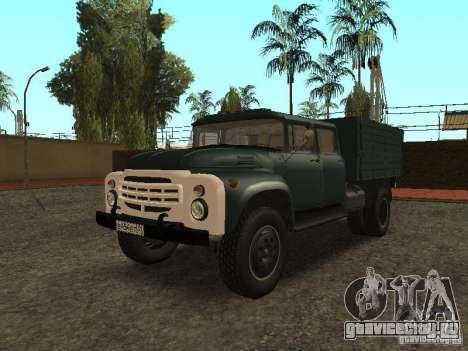 ЗиЛ 130 Двойная кабина для GTA San Andreas
