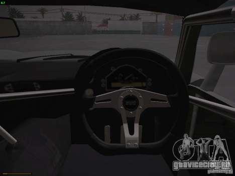 TVR Cerbera Speed 12 для GTA San Andreas салон