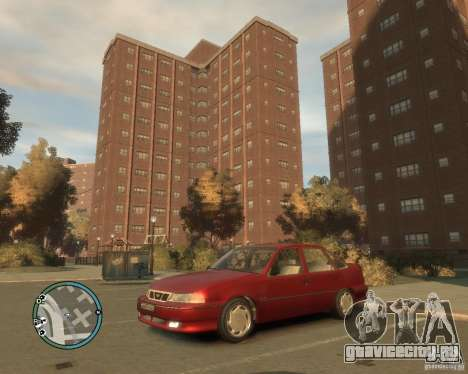 Daewoo Nexia DOHC для GTA 4 вид слева
