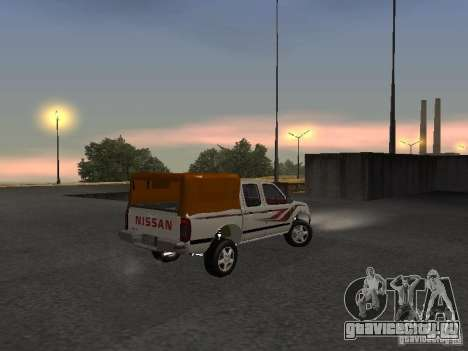 Nissan Pickup для GTA San Andreas вид справа