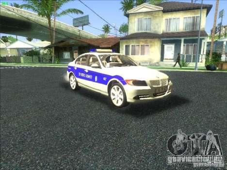 BMW 330i YPX для GTA San Andreas вид сбоку