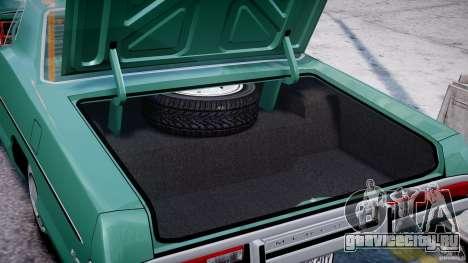 Mercury Monterey 2DR 1972 для GTA 4 вид сбоку