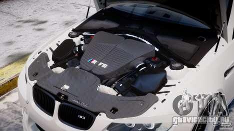 BMW M3 Hamann E92 для GTA 4 салон