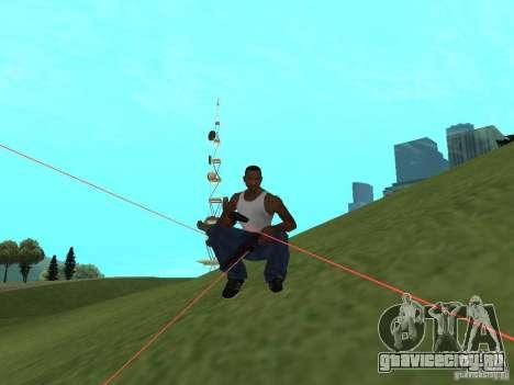 Laser Weapon Pack для GTA San Andreas четвёртый скриншот