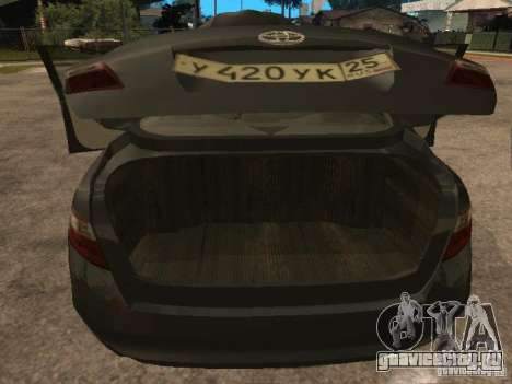 Toyota Camry для GTA San Andreas вид справа