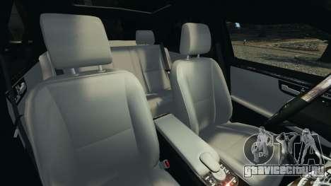 Mercedes-Benz W221 S500 2006 для GTA 4 вид изнутри