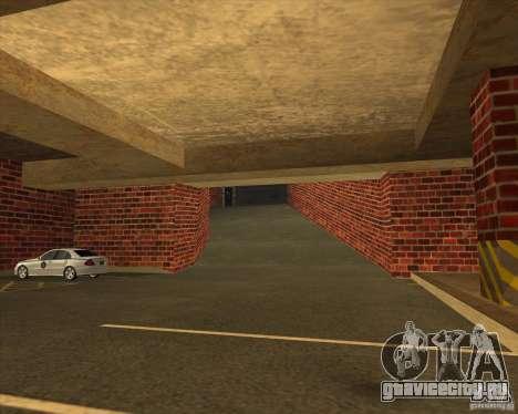 Новый гараж полиции ЛСПД для GTA San Andreas второй скриншот
