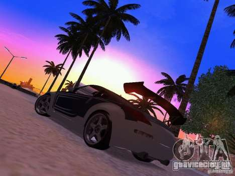 Nissan 350z Tea Hair для GTA San Andreas вид слева