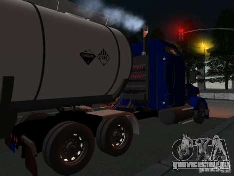 Kenwort T800 Carlile для GTA San Andreas вид сзади слева