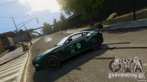 Aston Martin V12 Zagato 2012 для GTA 4 вид слева