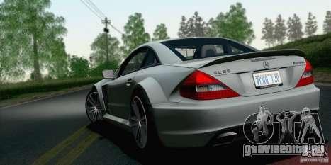Mercedes-Benz SL65 AMG Black Series для GTA San Andreas вид слева