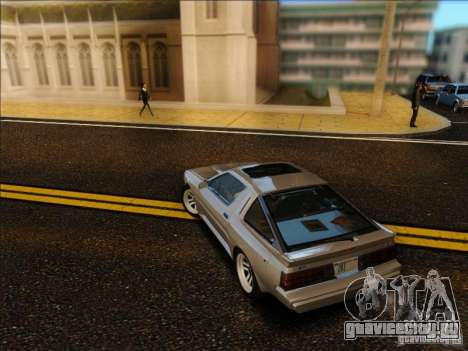 Mitsubishi Starion ESI-R 1986 для GTA San Andreas вид слева