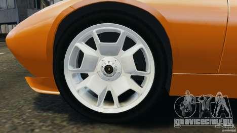 Lamborghini Miura 2006 для GTA 4 вид сбоку