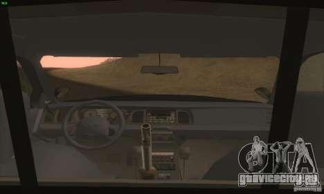 Ford Crown Victoria Idaho Police для GTA San Andreas вид справа