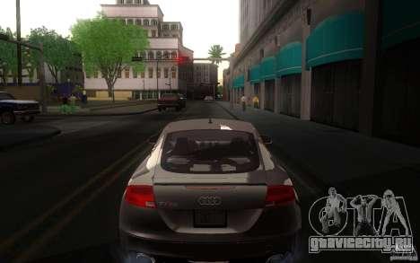 Audi TT RS для GTA San Andreas вид справа