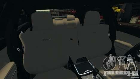 Dodge Charger SRT8 2012 v2.0 для GTA 4 вид изнутри