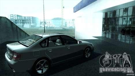 Subaru Legacy B4 3.0R specB для GTA San Andreas вид слева