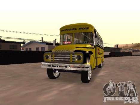 Bedford School Bus для GTA San Andreas