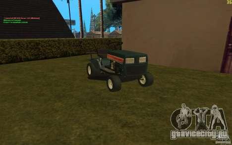 MTD Nogamatic 11 для GTA San Andreas вид сзади слева