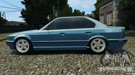 BMW E34 V8 540i для GTA 4 вид слева