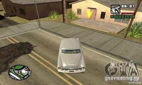 Houstan Wasp (Mafia 2) для GTA San Andreas вид сзади