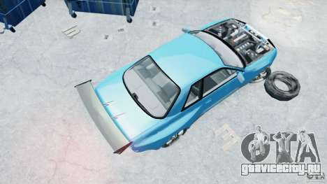Nissan Skyline R32 GTS-Т [FINAL] для GTA 4 вид справа
