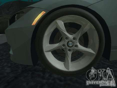 BMW Z4 для GTA San Andreas двигатель