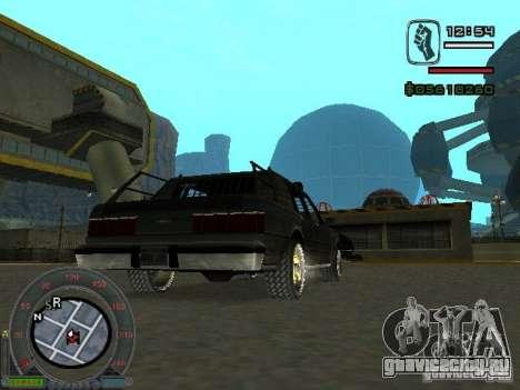 Новый Greenwood для GTA San Andreas вид сзади слева