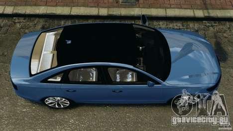 Audi A6 для GTA 4 вид справа