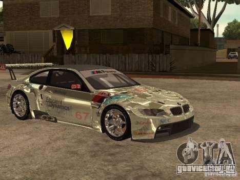 BMW M3 GT2 для GTA San Andreas вид сзади