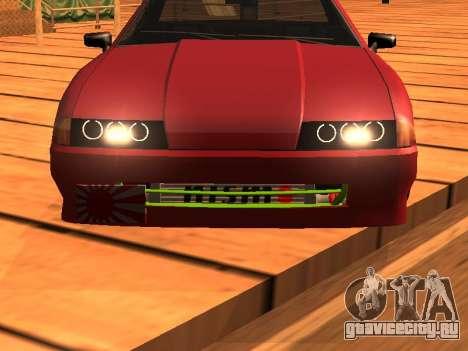 JDM Elegy для GTA San Andreas вид сзади слева
