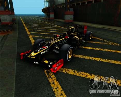 Lotus E20 F1 2012 для GTA San Andreas