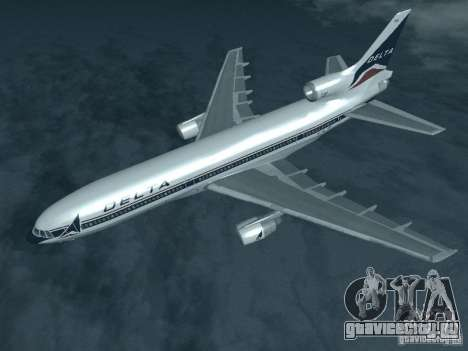 L1011 Tristar Delta Airlines для GTA San Andreas