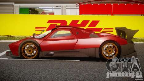 Pagani Zonda R для GTA 4 вид слева