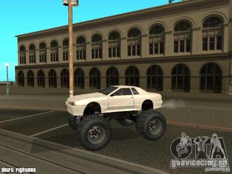 Elegy Monster для GTA San Andreas вид сзади слева