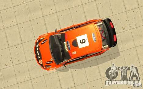 Ford Focus RS WRC 08 для GTA San Andreas