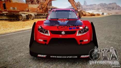 Suzuki Monster SX4 для GTA 4 вид сзади