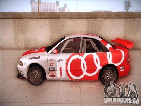 Audi S4 Galati Race для GTA San Andreas вид слева