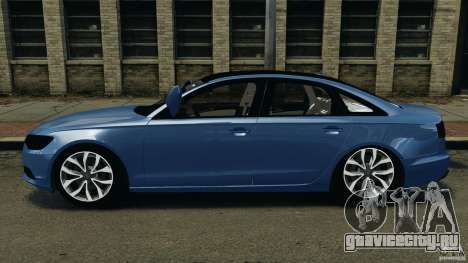 Audi A6 для GTA 4 вид слева