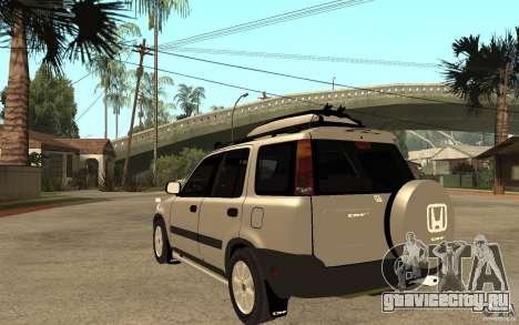 Honda CRV 1997 для GTA San Andreas вид сзади слева
