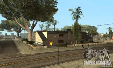 Grove Street 2013 v1 для GTA San Andreas шестой скриншот