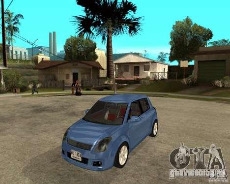 2007 Suzuki Swift для GTA San Andreas