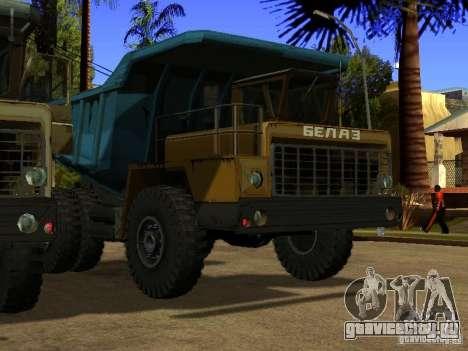 БелАЗ 540 для GTA San Andreas вид слева