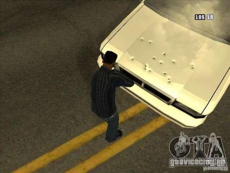 Дырки от пуль для GTA San Andreas четвёртый скриншот