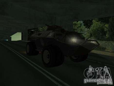 APC из GTA TBoGT IVF для GTA San Andreas вид слева