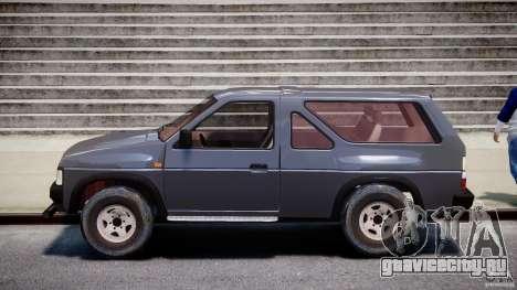 Nissan Terrano для GTA 4 вид слева
