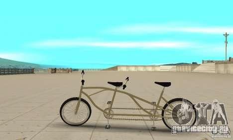 double classic MT Bike для GTA San Andreas вид слева