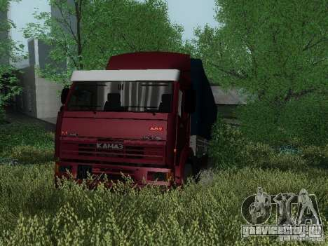КамАЗ 65117 для GTA San Andreas вид слева