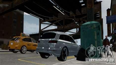 Audi Q7 для GTA 4 вид справа