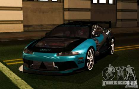 Mitsubishi Eclipse Elite для GTA San Andreas вид справа